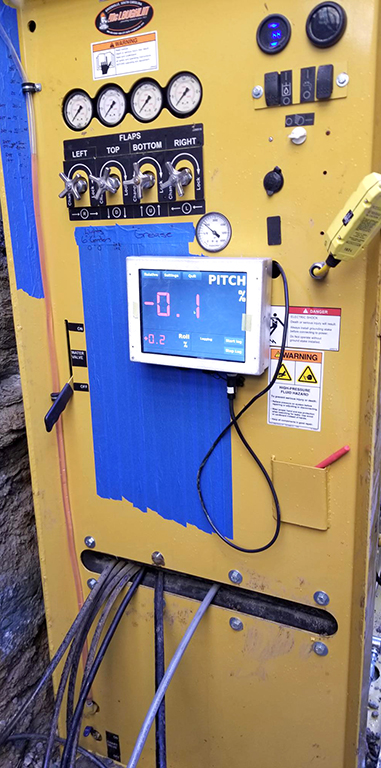 Self-Contained Control Station. Self- contained control station controls the movement of the steering head and all hydraulic, water and electrical lines.